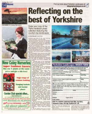 Reflecting On Yorkshire, Telegraph & Argus, May 5 2011