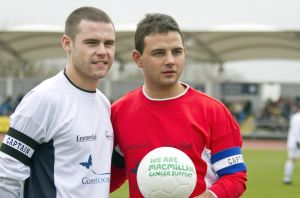 Gavin Blyth Memorial Cup Feb 19 2011 team captains 1 sm.jpg