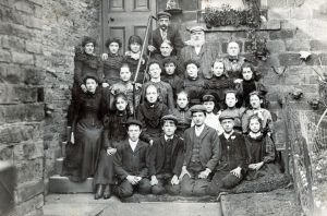 Bradford Factory Workers, circa 1900