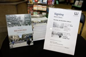 Bradford Through Time, Waterstones December 1, 2011