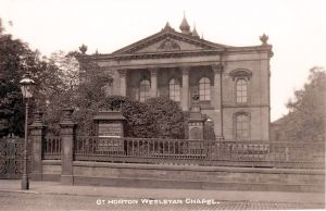 Great Horton Wesleyan Chapel, 1905