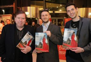 Blake Harrison Yoav Factor  Timothy Spall film festival march 23 2011 image 2 sm.jpg