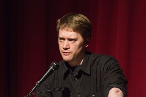 Film Festival March 25 2011 Pictureville Tom Vincent introducing Jasper Sharp image 1 sm.jpg