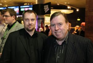 Tony Earnshaw with Timothy Spall film festival march 23 2011 image 1 sm.jpg