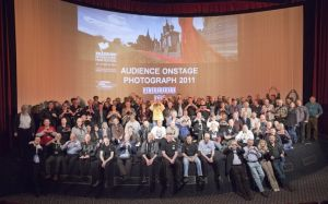 film festival audience on stage march 27 2011 stanley long pictureville image 3 circlorama sm.jpg