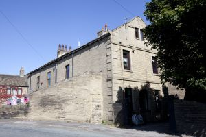 Law Hill, Southowram, Halifax (former school where Emily taught, private house) 1 sm.jpg