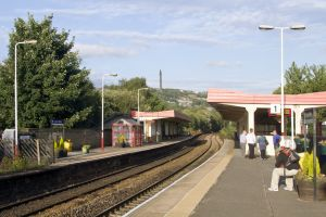 Sowerby Bridge railway station (Branwell employed as clerk here) sm.jpg