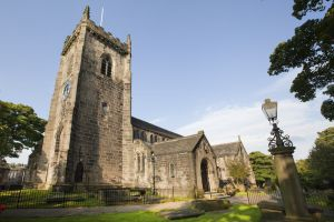 St Oswald's Church, Guiseley (Mr & Mrs Bronte married here) 2 sm.jpg