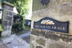 The vicarage, Hathersage (Charlotte stayed here with Ellen Nussey) 2 sm.jpg