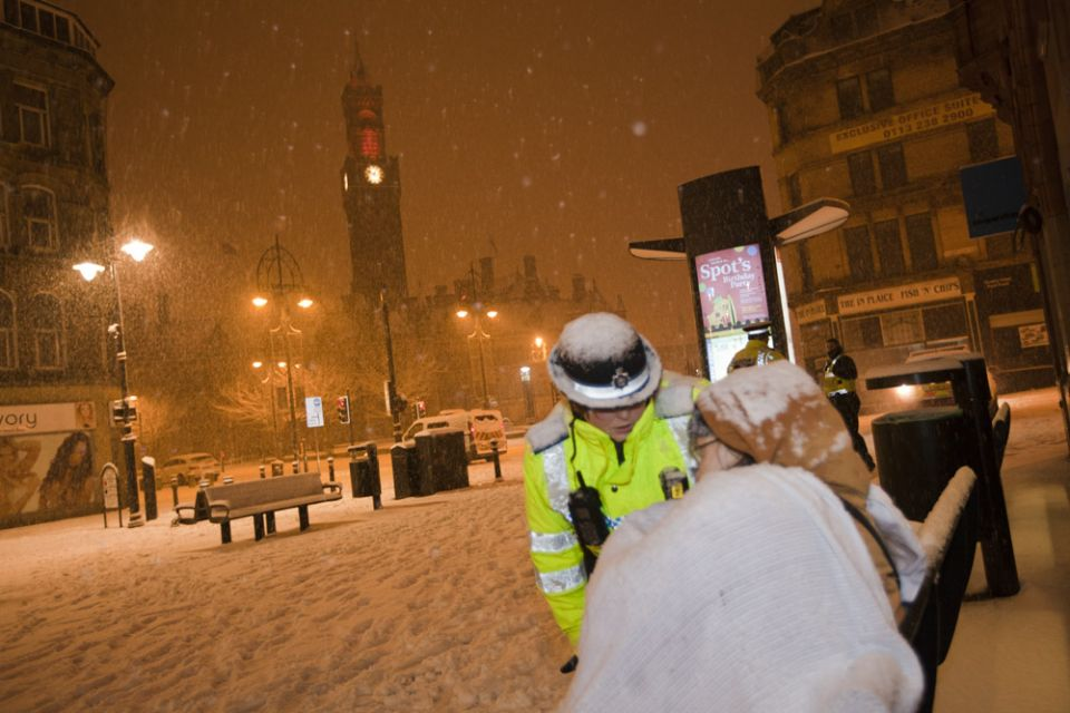 When is it going to snow in bradford 2014