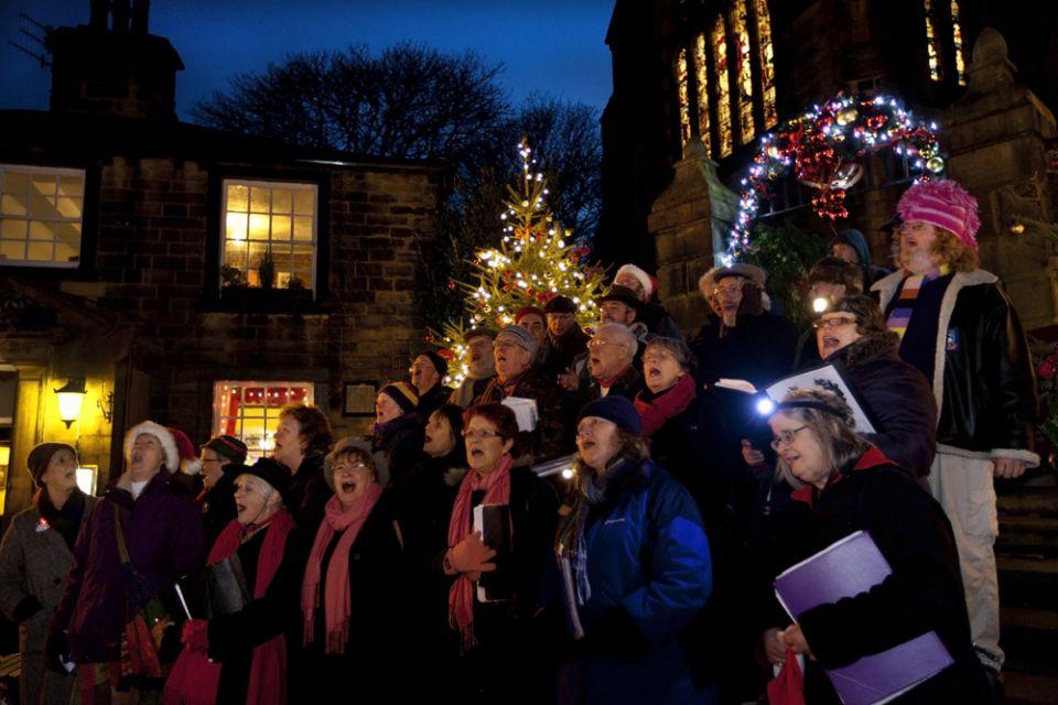Haworth Torchlight Procession