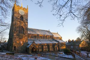 haworth church bathing in sunrise  december 2012 sm.jpg