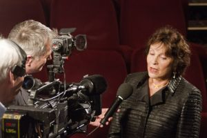 Film Festival Clare Bloom March 25 2011 television interview pictureville image 1 sm.jpg