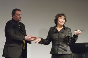 Film Festival Clare Bloom in conversation with Tony Earnshaw March 25 2011 stage image 10 sm.jpg