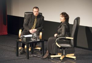 Film Festival Clare Bloom in conversation with Tony Earnshaw on stage image 1 sm.jpg