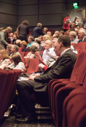 Film Festival audience prior to Clare Bloom in conversation March 25 2011 image 1 sm.jpg