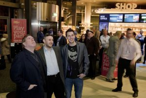 Blake Harrison Yoav Factor  Timothy Spall film festival march 23 2011 image 3 sm.jpg