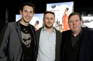 Blake Harrison Yoav Factor  Timothy Spall film festival march 23 2011 image1 sm.jpg