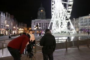 sara weather news go out live nottingham march 2011 1 sm.jpg
