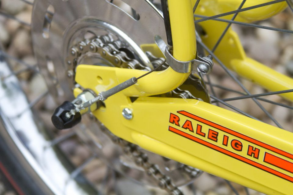 My Fizzy Yellow Mkii Raleigh Chopper
