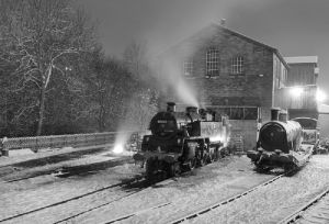 haworth train shed december 18 2010 bw steam sm.jpg