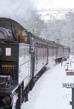 oxenhope santa express december 18 2010 steam engine behind deisel sm.jpg