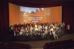film festival audience on stage march 27 2011 stanley long pictureville image 4 circlorama sm.jpg